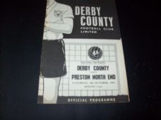 Derby County v Preston North End, 1963/64